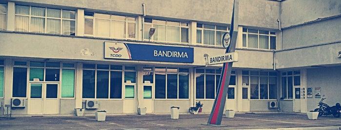 Bandırma Garı is one of Bandırma.