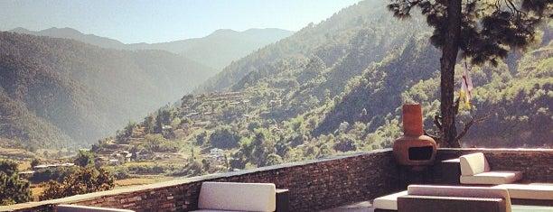 COMO Uma Punakha is one of Stevenson's Favorite World Hotels.