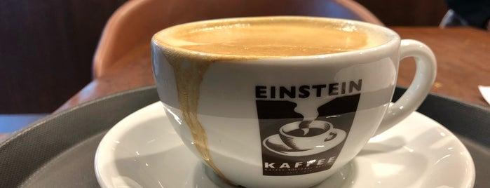Einstein Kaffee is one of Orte, die Cody gefallen.