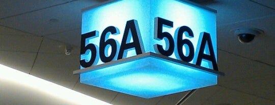 Gate 56A is one of ..