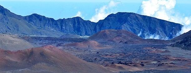 Haleakalā National Park is one of Maui.