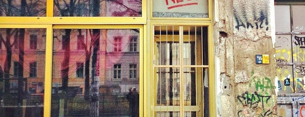 Neu! Bar is one of Berlin spots to visit.