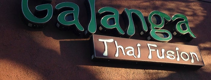 Galanga Thai Fusion is one of LA.