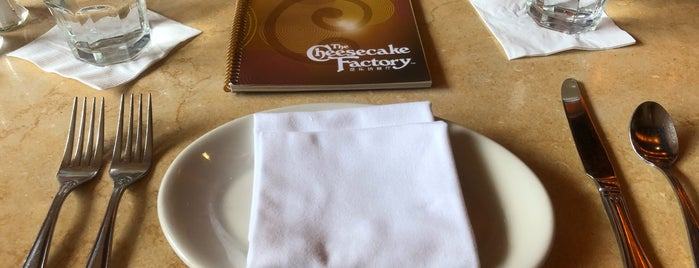 The Cheesecake Factory is one of Shanghai.