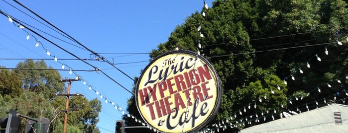 Lyric Hyperion Theater & Cafe is one of Tempat yang Disimpan Whit.