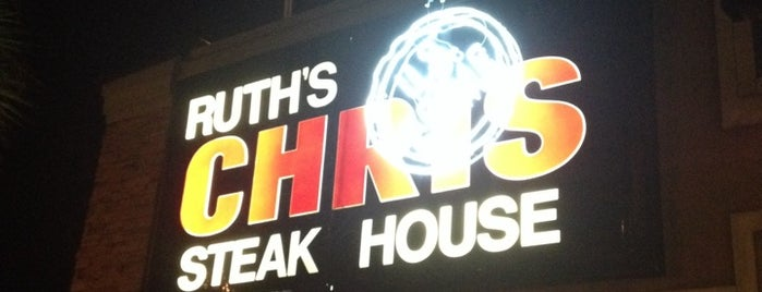 Ruth's Chris Steak House is one of Lugares guardados de Adrian.