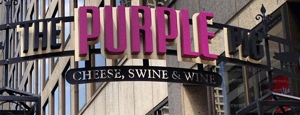The Purple Pig is one of Chicago.