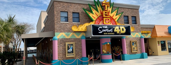 The Simpsons In 4D (Aztec Theater) is one of Jackieさんのお気に入りスポット.
