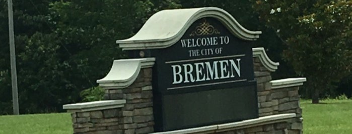 Bremen, GA is one of Home.