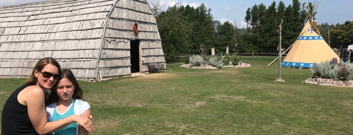 Museum of Ojibwa Culture & Marquette Mission Park is one of St. Ignace.