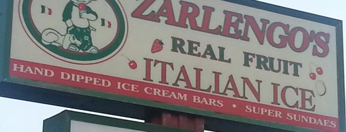 Zarlengo's Italian Ice and Gelato is one of Ice cream.