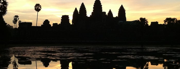 Angkor Archaelogical Park is one of Siem Reap, Cambodia.