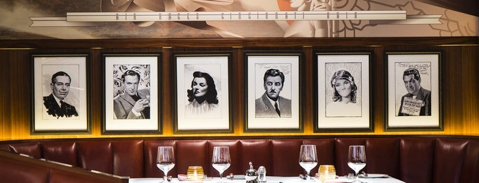 The Colony Grill Room is one of Mayfair List.