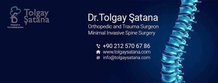 Dr. Tolgay Şatana is one of Ortopedi ve Travmatoloji.