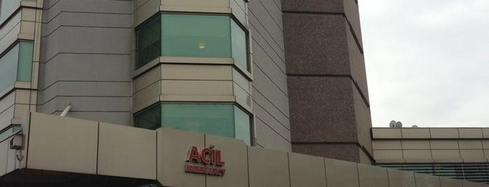 Acıbadem International Hospital is one of Hospitals.