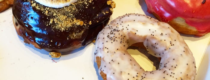 Blackbird Doughnuts is one of Dessert + Snack.