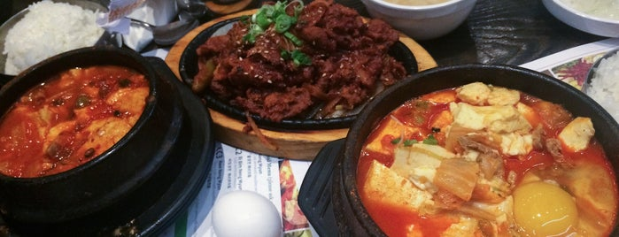 BCD Tofu House is one of Orte, die Caroline gefallen.