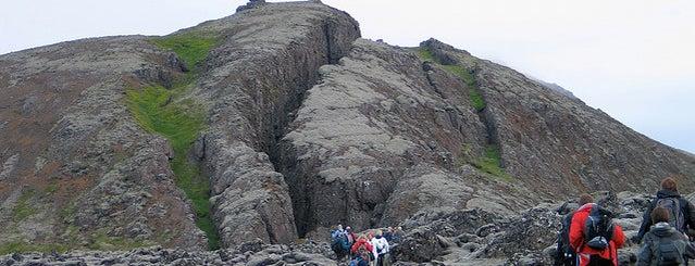Lambafellsklofi is one of ICELAND / Reykjanes Peninsula.