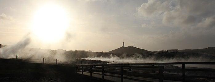 Gunnuhver is one of ICELAND / Reykjanes Peninsula.