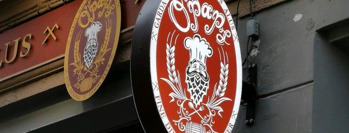 O'paps KROGS is one of Peteris'in Beğendiği Mekanlar.
