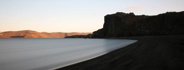Kleifarvatn is one of ICELAND / Reykjanes Peninsula.