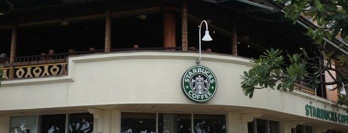 Starbucks is one of Lieux qui ont plu à Jon.