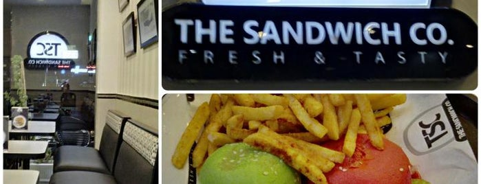 The Sandwich Co is one of Riyadh - BURGERS!!.