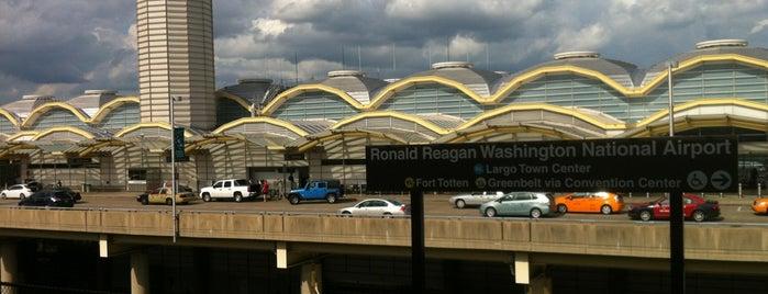 Ronald Reagan Washington National Airport Metro Station is one of DC Metro Insider Tips.