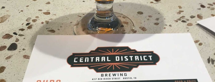 Central District Brewing is one of Austin.