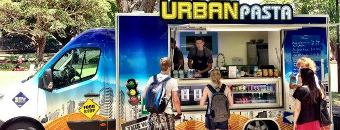 Urban Pasta is one of Sydney food trucks.