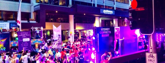 Sydney Gay and Lesbian Mardi Gras Parade 2014 is one of jaddanさんのお気に入りスポット.