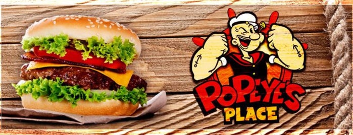 Popeye's Place Burguer is one of Locais curtidos por Will.