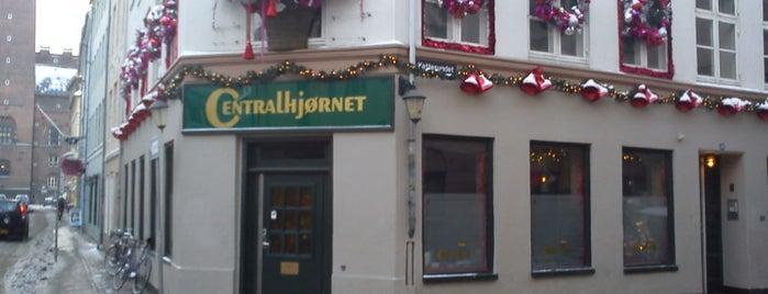 Centralhjørnet is one of Copenhagen.