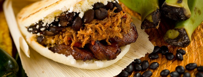 Caracas Arepa Bar is one of Gluten-free in NY.