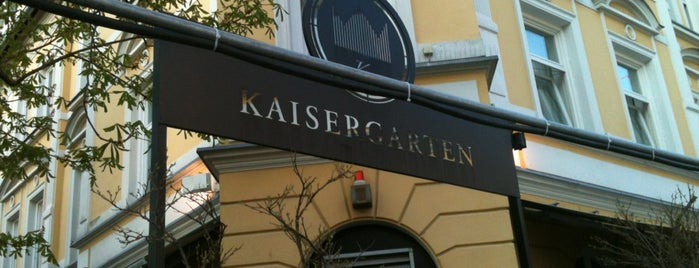 Kaisergarten is one of Restaurants.