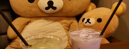 Rilakkuma Cafe is one of #seoul5evr.