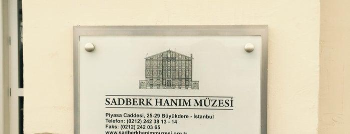 Sadberk Hanım Müzesi is one of H'ın Beğendiği Mekanlar.