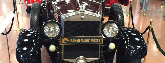 Rahmi M. Koç Müzesi is one of H : понравившиеся места.