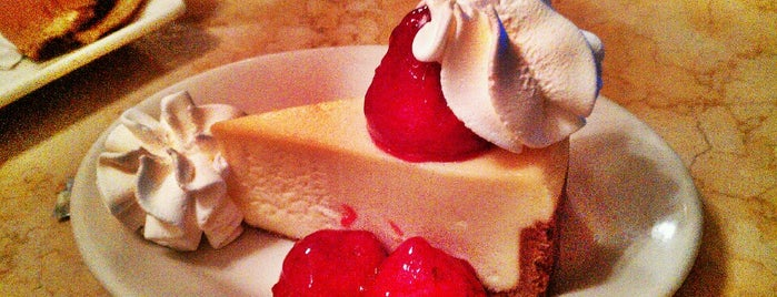 The Cheesecake Factory is one of Been there and did the damn thing!.