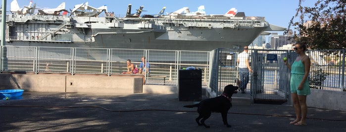 Hudson River Park Dog Run II is one of My Good Dog NYC: NYC Dog Runs.