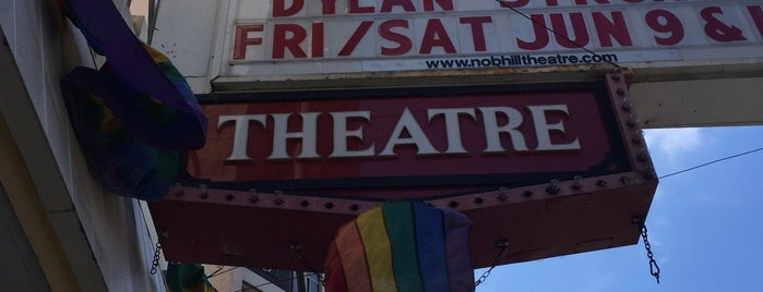 The Nob Hill Theatre is one of to do in sf.