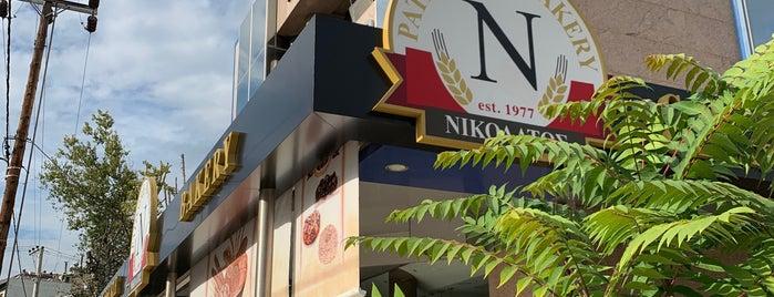 Νικολάτος Patisserie Bakery is one of ΑΘΕΝΣ Σπεσιάλ by Καλλίδης.