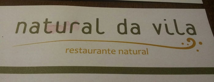 Natural da Vila is one of Restaurantes do dia a dia.