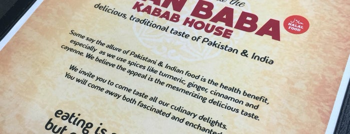 Khan Baba Kabab House is one of Locais curtidos por Vrutti.