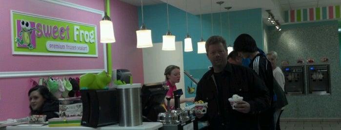 sweetFrog Premium Frozen Yogurt is one of Posti che sono piaciuti a Debbi.
