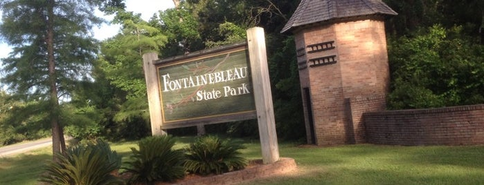 Fontainebleau State Park is one of Northshore Nature.