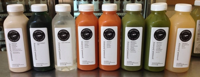 Pressed Juicery is one of DTLA.
