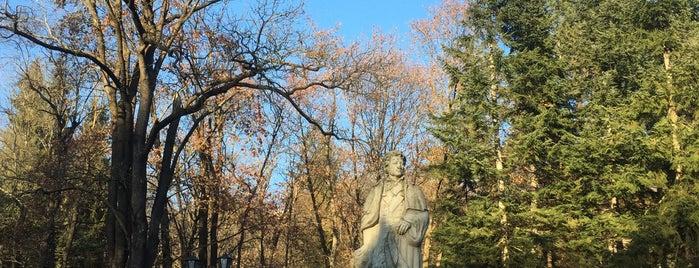 Памятник А. С. Пушкину is one of KMV.