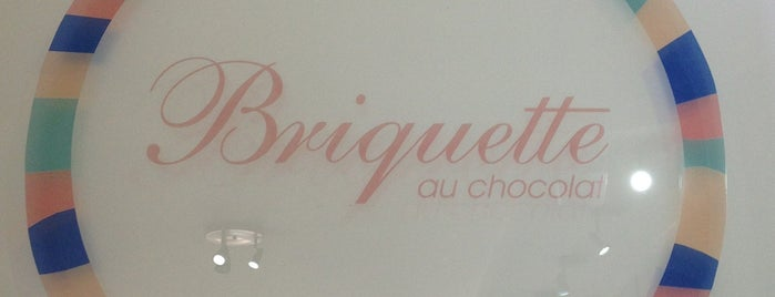 Briquette au Chocolat is one of Lugares guardados de Viridiana.