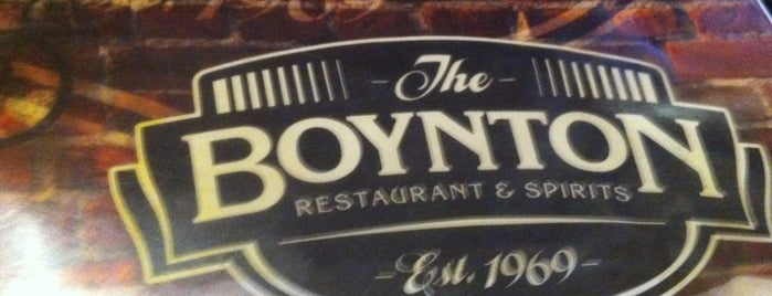 The Boynton Restaurant & Spirits is one of Good Eats in New England.